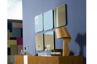 Νο 5 τετράγωνος καθρέπτης