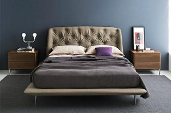 Hampton κρεβάτι Calligaris
