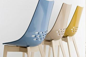 Jam Wood καρέκλα Connubia by Calligaris τεμάχια 2