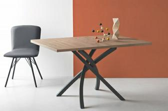 Twister τραπέζι κουζίνας Connubia by Calligaris