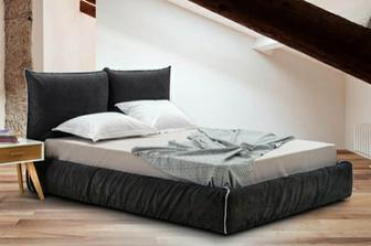 Κρόνος NEW υφασμάτινο κρεβάτι