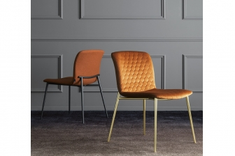 Love καρέκλα με μεταλλικά πόδια Calligaris