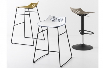 Jam Metal σκαμπό Connubia by Calligaris