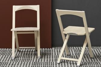 Olivia σπαστή καρέκλα Connubia by Calligaris