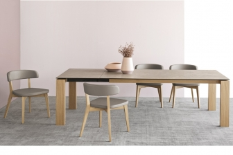Sigma Wood τραπεζαρία Connubia by Calligaris