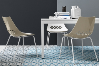 Jam καρέκλα με τέσσερα πόδια Connubia by Calligaris
