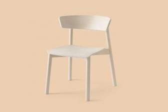 Clelia ξύλινη καρέκλα Connubia by Calligaris