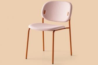 Yo καρέκλα με τέσσερα μεταλλικά πόδια Connubia by Calligaris