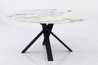 Bow στρογγυλό τραπέζι με κεραμικό