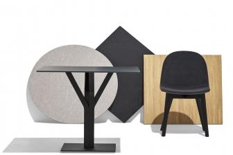 Branch στρογγυλό ή τετράγωνο τραπέζι κουζίνας Connubia by Calligaris