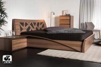 Ιοκάστη κρεβάτι καπιτονέ Join