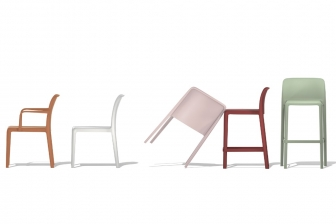 Bayo καρέκλα Connubia by Calligaris