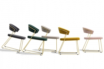 New York καρέκλα με 2 πόδια Connubia by Calligaris
