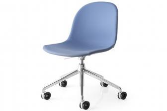 Academy καρέκλα γραφείου με απλά πόδια Connubia by Calligaris