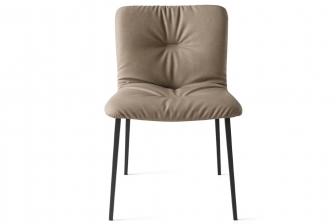 Annie Soft καρεκλα με μεταλλικά πόδια Calligaris