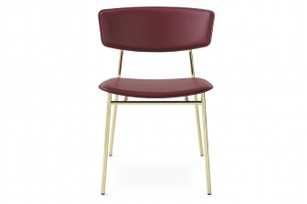 Fifties καρέκλα με δέρμα ή τεχνόδερμα Calligaris