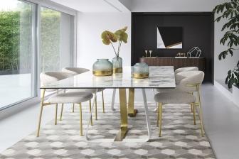 Sunshine τραπέζι παραλληλόγραμμο με κεραμικό Calligaris