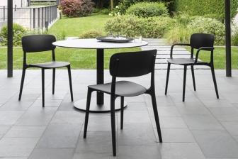 Liberty καρέκλα και καρεκλπολυθρόνα για εξωτερικό χώρο Calligaris