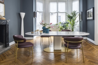 Cameo τραπέζι με κεραμικό Calligaris
