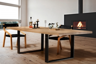 Upp τραπέζι παραλληλόγραμμο με ξύλινο καπάκι