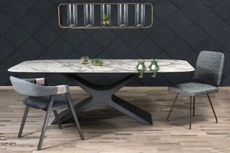 More τραπέζι με κεραμική επιφάνεια
