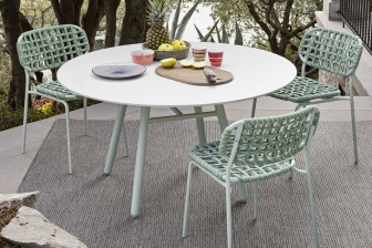 Yo στρογγυλό τραπέζι για τον κήπο Connubia by Calligaris