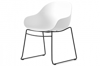 Academy καρεκλοπολυθρόνα με δύο πόδια Connubia by Calligaris