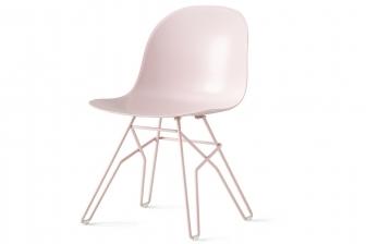 Academy καρέκλα με πλεκτό πόδι Connubia by Calligaris
