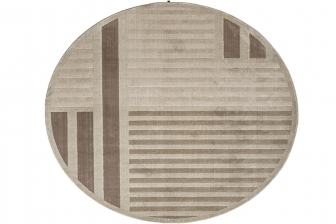 Hachiko στρογγυλό χαλί Connubia by Calligaris