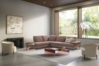 Landa διθέσιος τριθέσιος και γωνιακός καναπές Calligaris